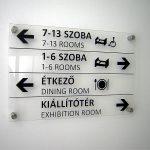 Bácska dekor információs tábllarendszerek