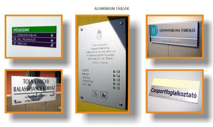 Információs táblarendszerek 2